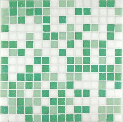 mozaik pločice mix verde